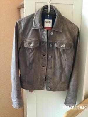 Куртка кожаная Tommy Hilfiger 42 р