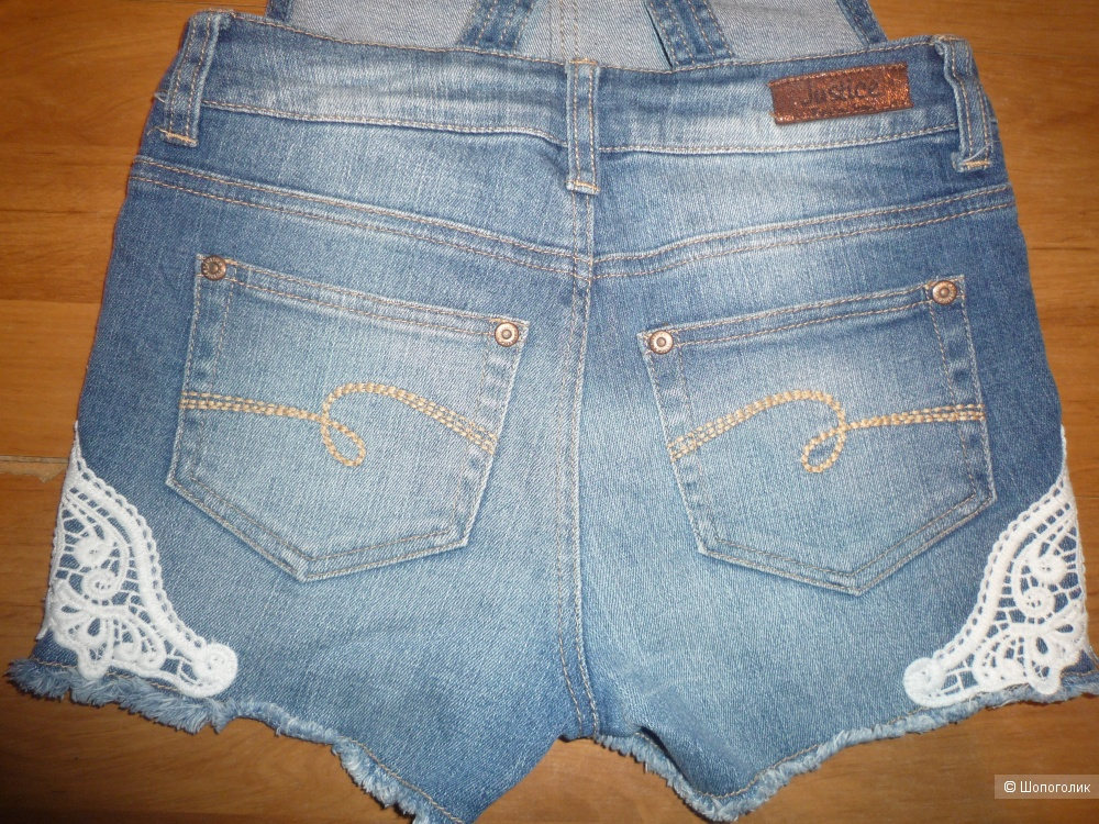 Шорты джинсовые Justice 8-10 лет