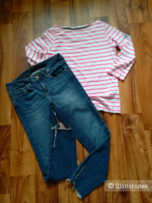 Лот джинсы Zara premium 44-46+ Лонг Jean Paul s/m