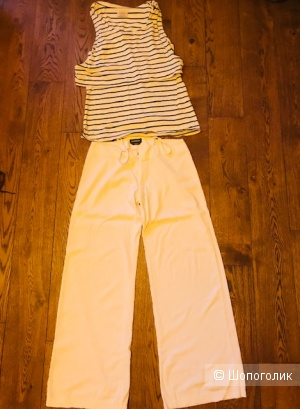 Комплект брюки Bebe+  майка Twenty Easy- размер 44-46