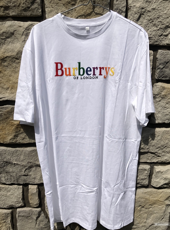 Футболка BURBERRY, оверсайз