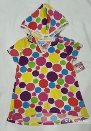 Платье-пляжная накидка для девочки 5 лет