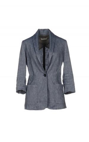 Льняной пиджак Stefanel, размер IT48 (на российский 48-50).