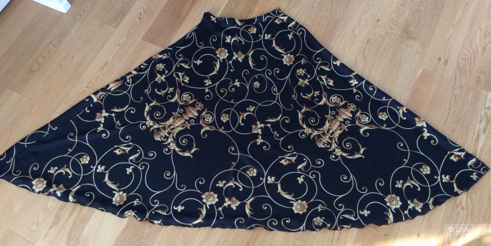 Сет: шелковая юбка Lissa р.42 (на 44-46) и топ Monton р.М