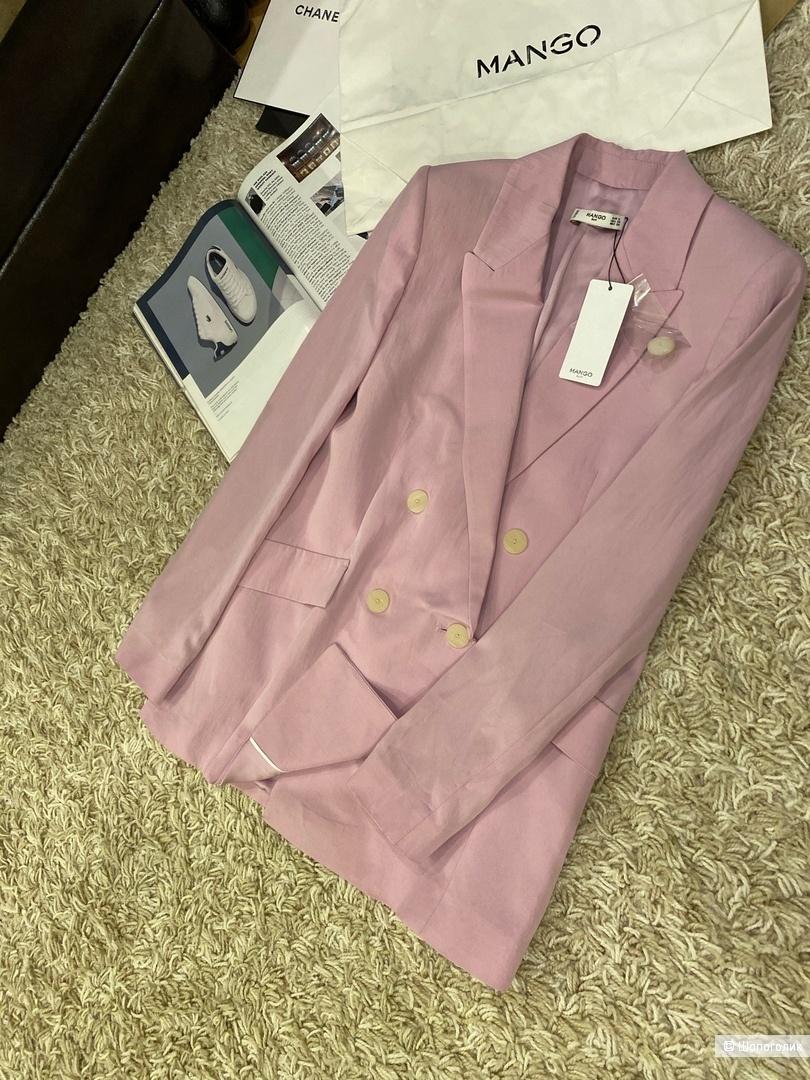 Пиджак из лиоцелла mango, размер S