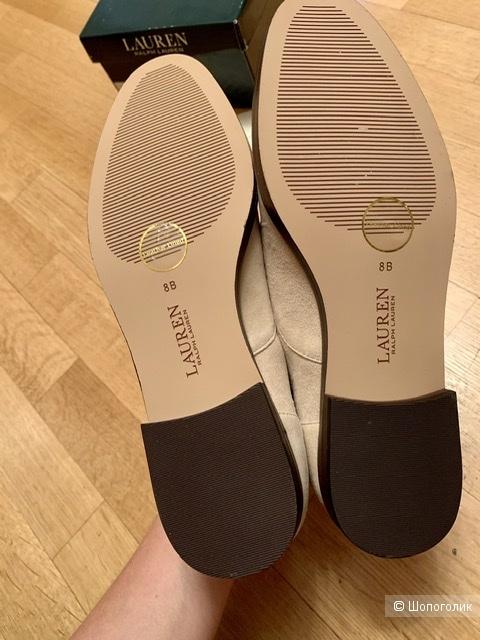 Ботинки замшевые Ralph Lauren 38