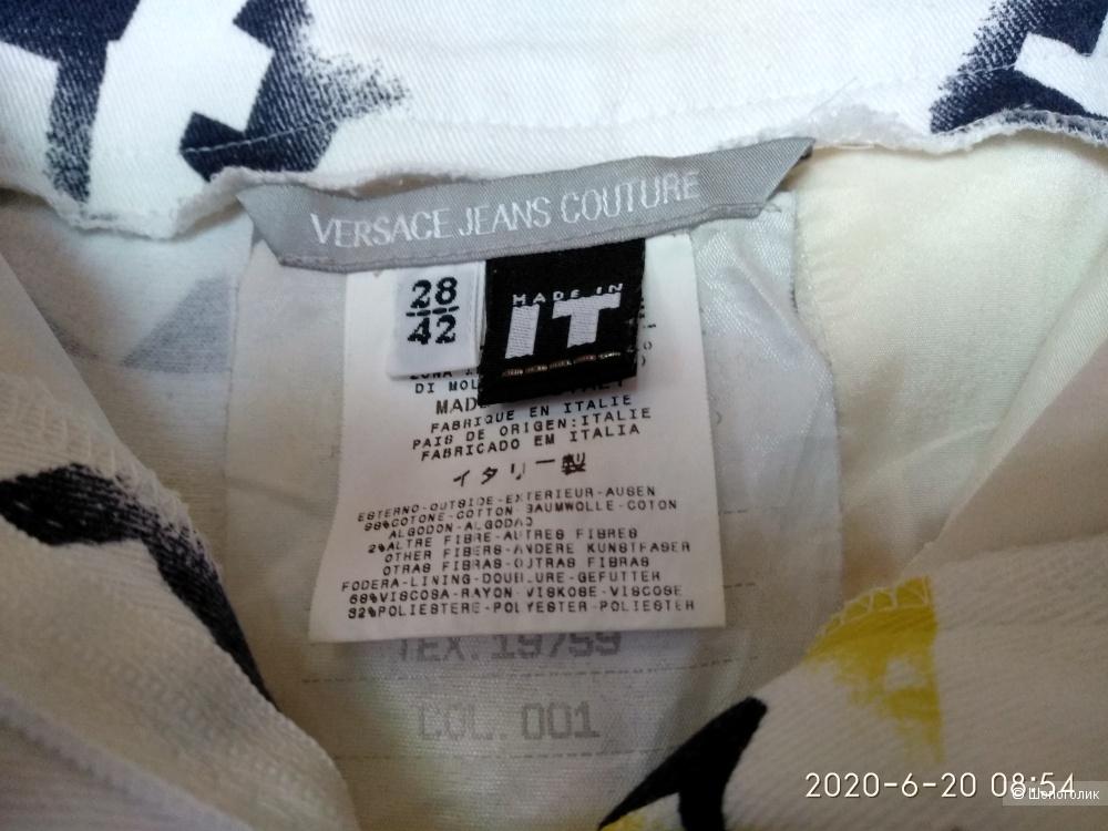 Укороченные брюки Versace jeans 28\42it
