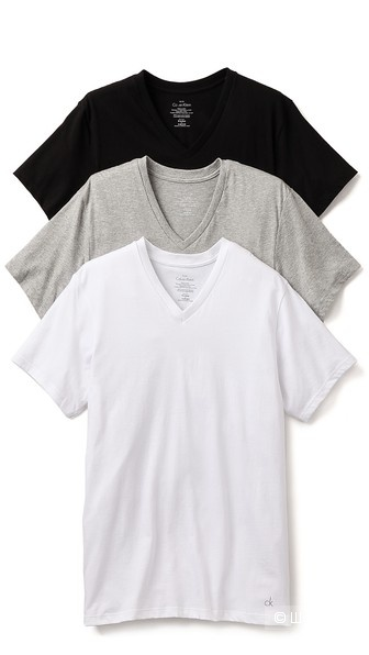 Комплект мужских футболок Calvin Klein,  размер L