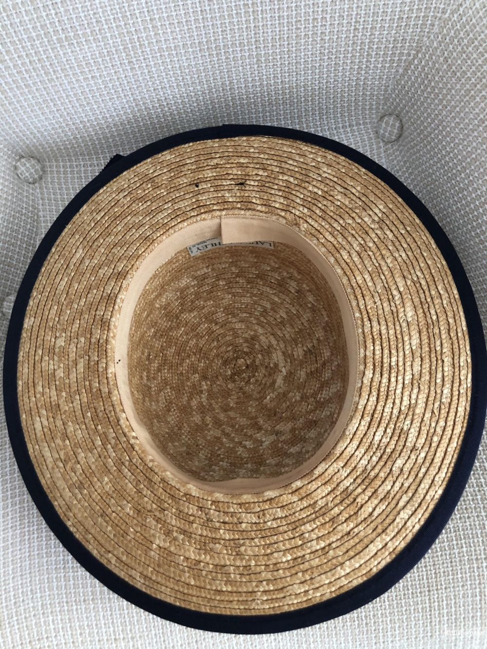 Шляпа-конотье Laura Ashley.