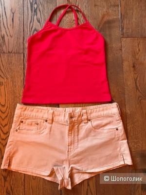 Комплект -шорты FS Jeans + топ Tenth- размер 46