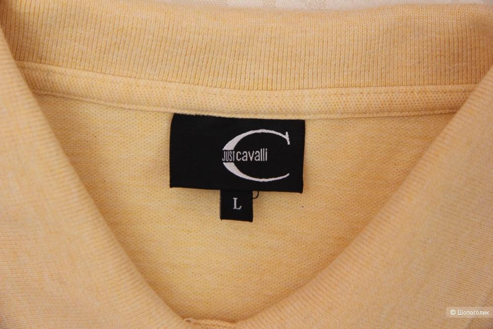 Футболка-поло Just Cavalli  размер М/L