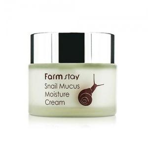 Крем для лица увлажняющий улиточный Farm Stay Snail Mucus Moisture Cream 50мл