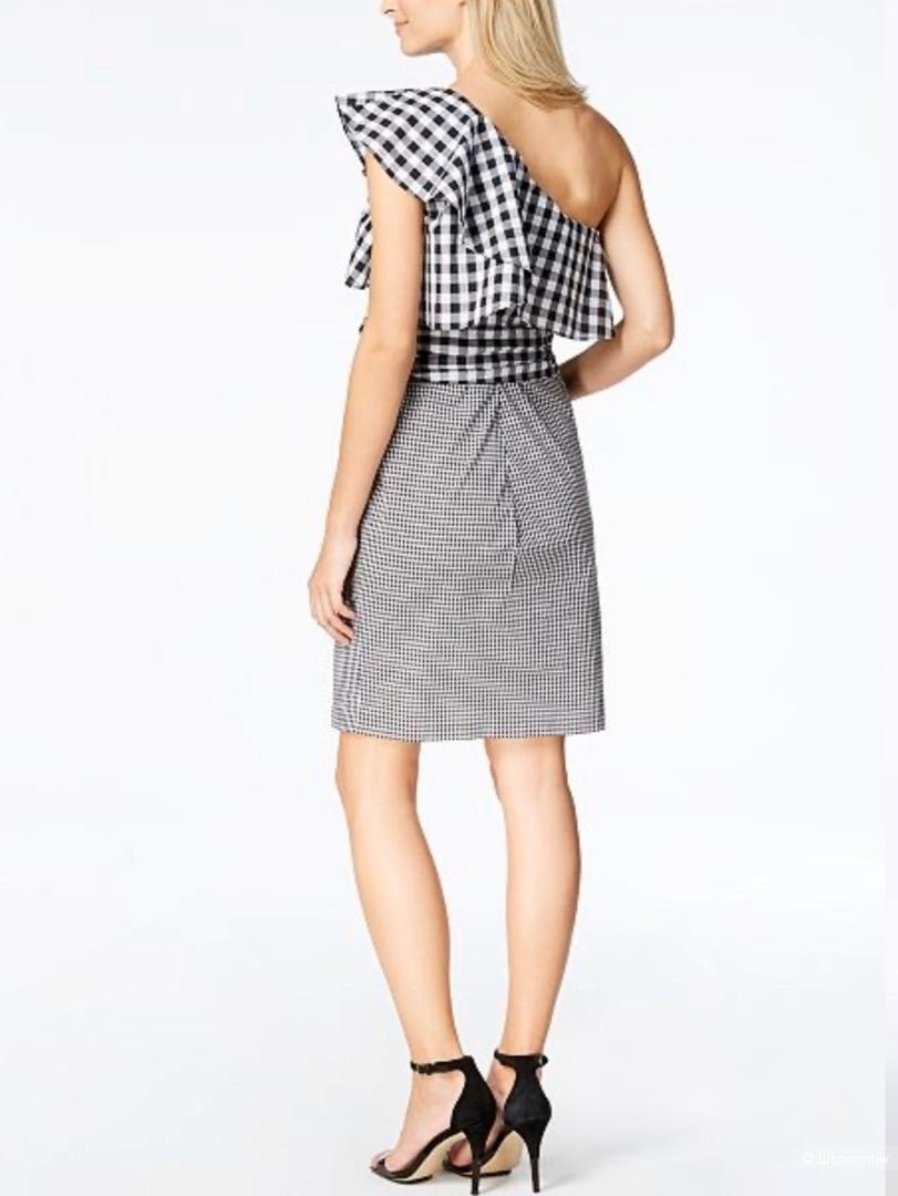 Платье в клетку от Calvin Klein S/M
