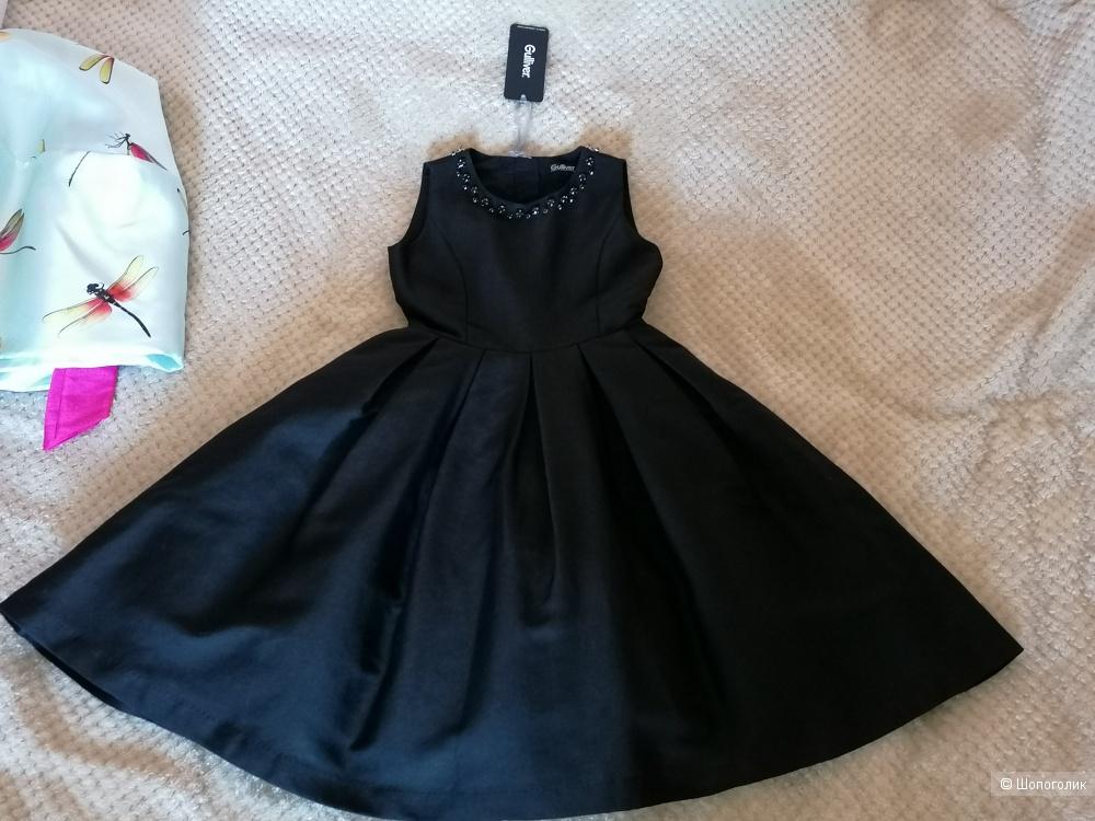 Платье gulliver 122-128 чёрное