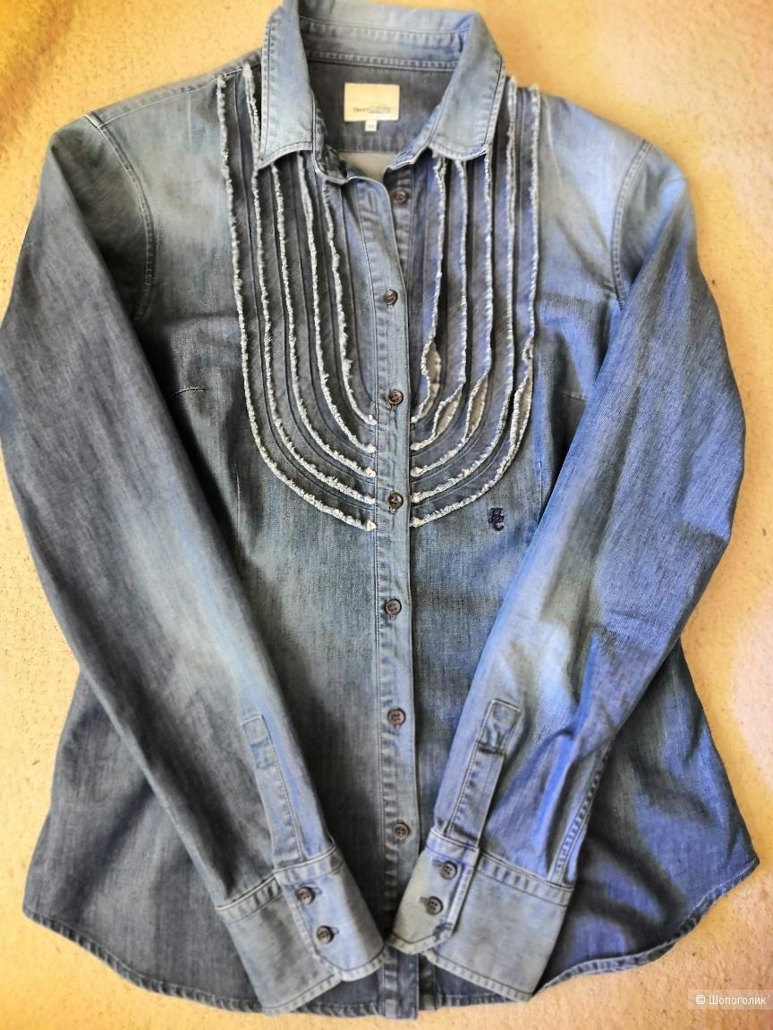 Сэт Пиджак Banana Republic и рубашка Henry Cottons.на42-44