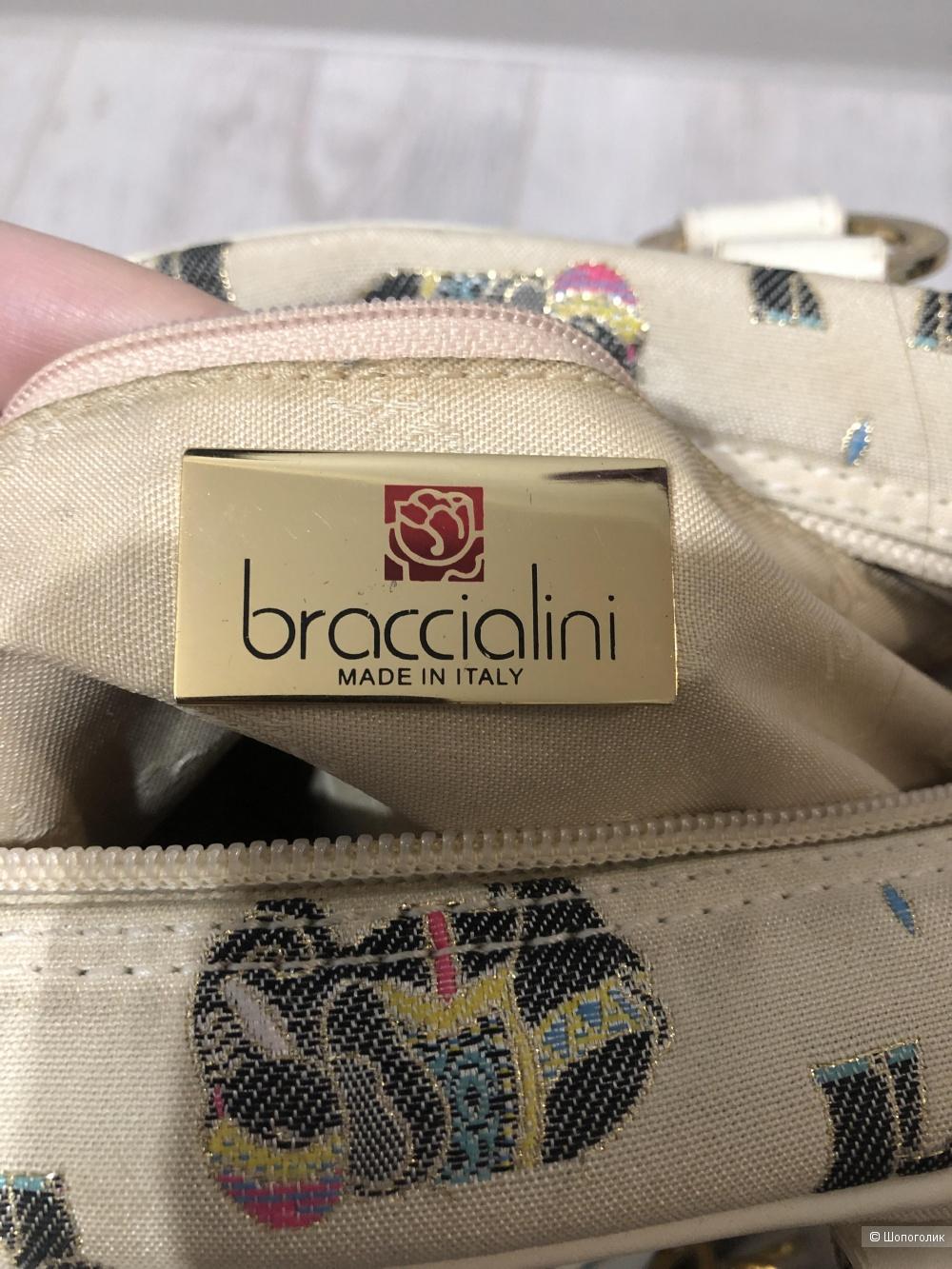 Сумка Braccialini размер 32 на 21 см
