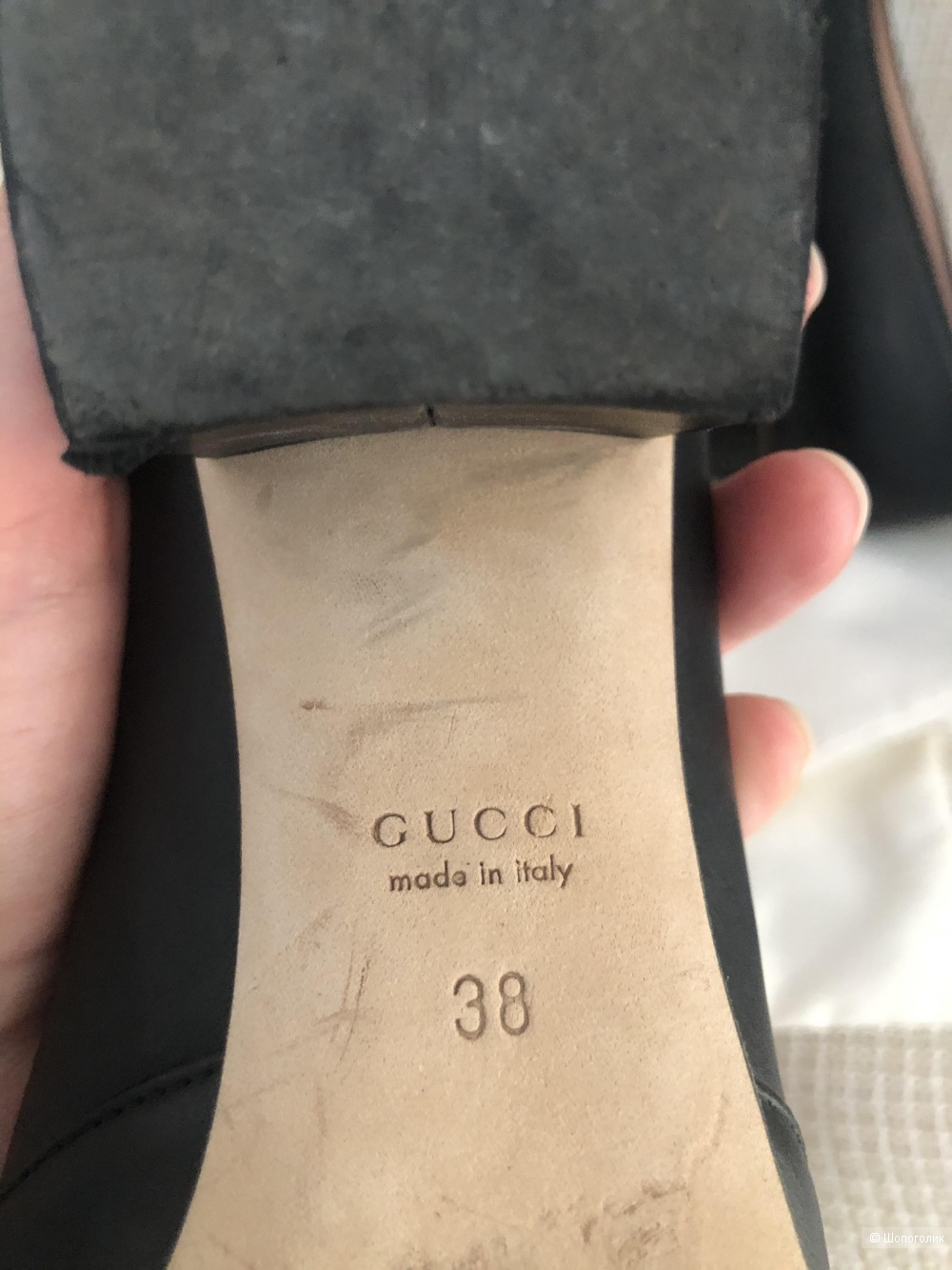 Туфли Gucci. Размер 38.