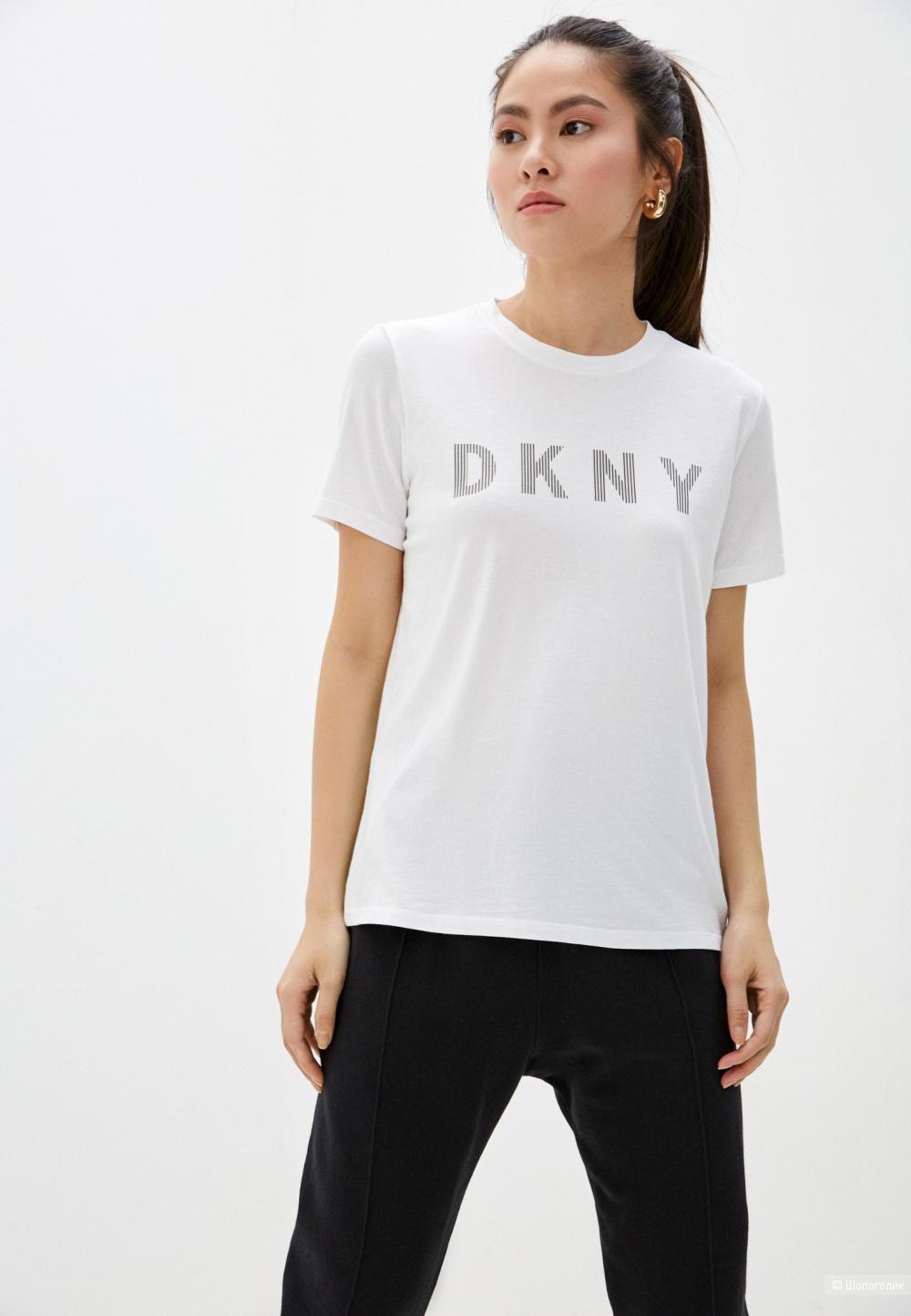 Футболка DKNY JEANS, размер 44-46