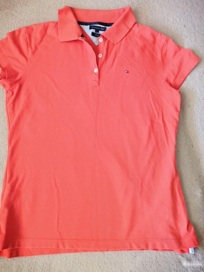 Сэт рубашка Hugo Boss, футболка Tommy Hilfiger на 44-46