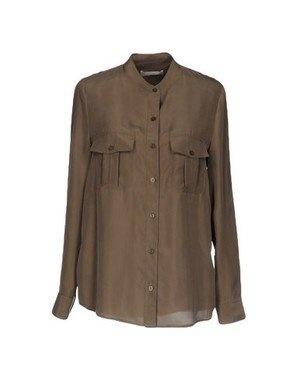 Шелковая рубашка stefanel, размер 46