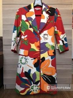 Пальто-плащ, Zara Basic, размер М.