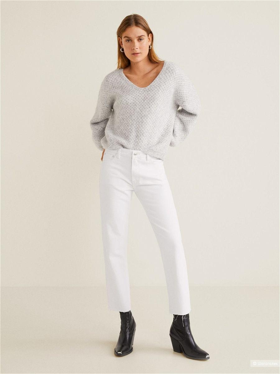 Прямые джинсы organic cotton mango, размер M