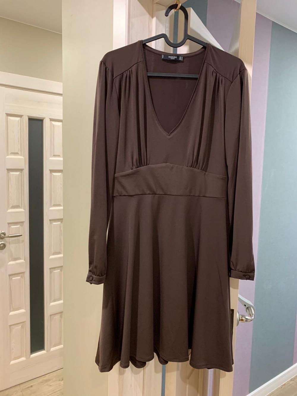 Комплект вещей MANGO, топ накидка платье, размер S