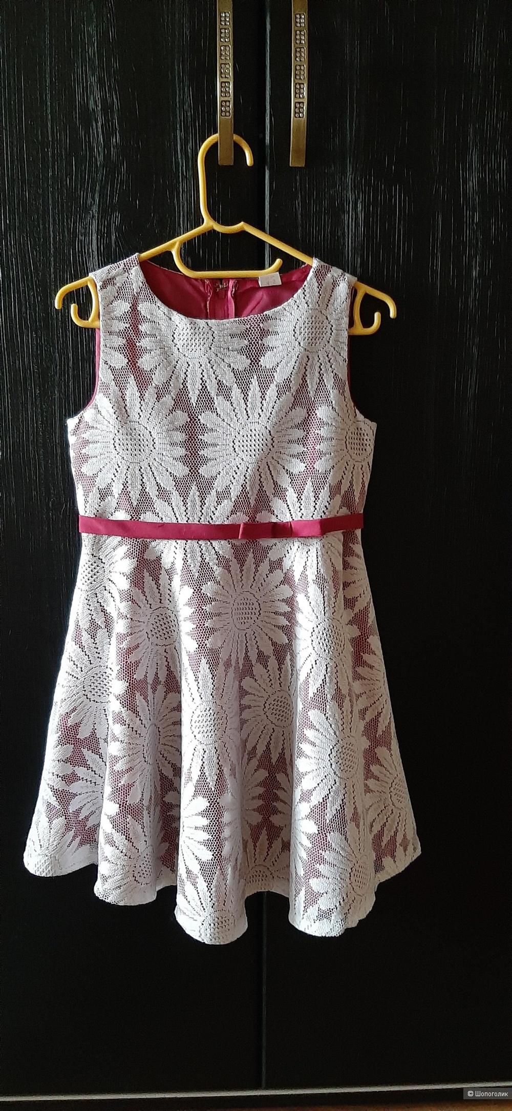 Платье, джинсы и эспадрильи на девочку, 110 р-р