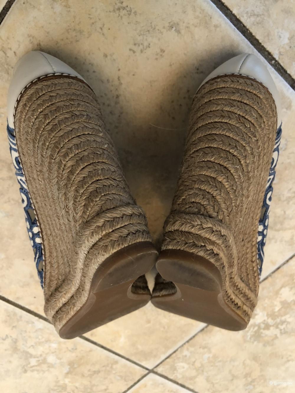 Эспадрильи на платформе Tory Burch, размер US 7