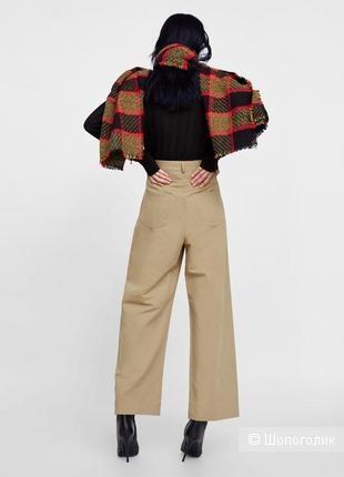 Льняные брюки  Zara XS
