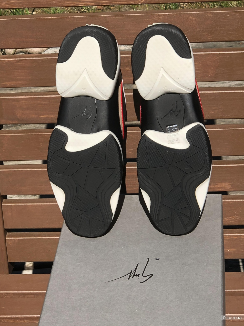 Кроссовки Giuseppe Zanotti p39it (25,3см по стельке)