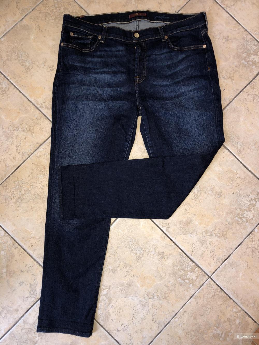 Джинсы 7 For All Mankind, размер джинсовый 31.