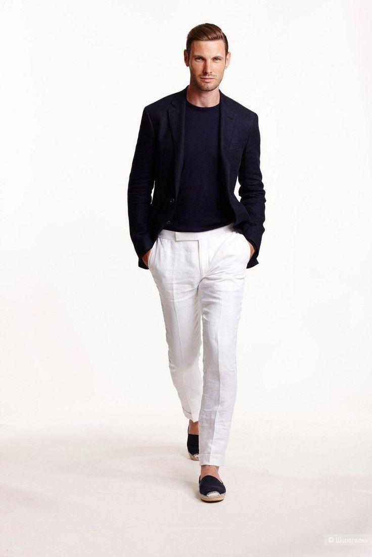 Мужской льняной пиджак jack&jons, размер 52/54