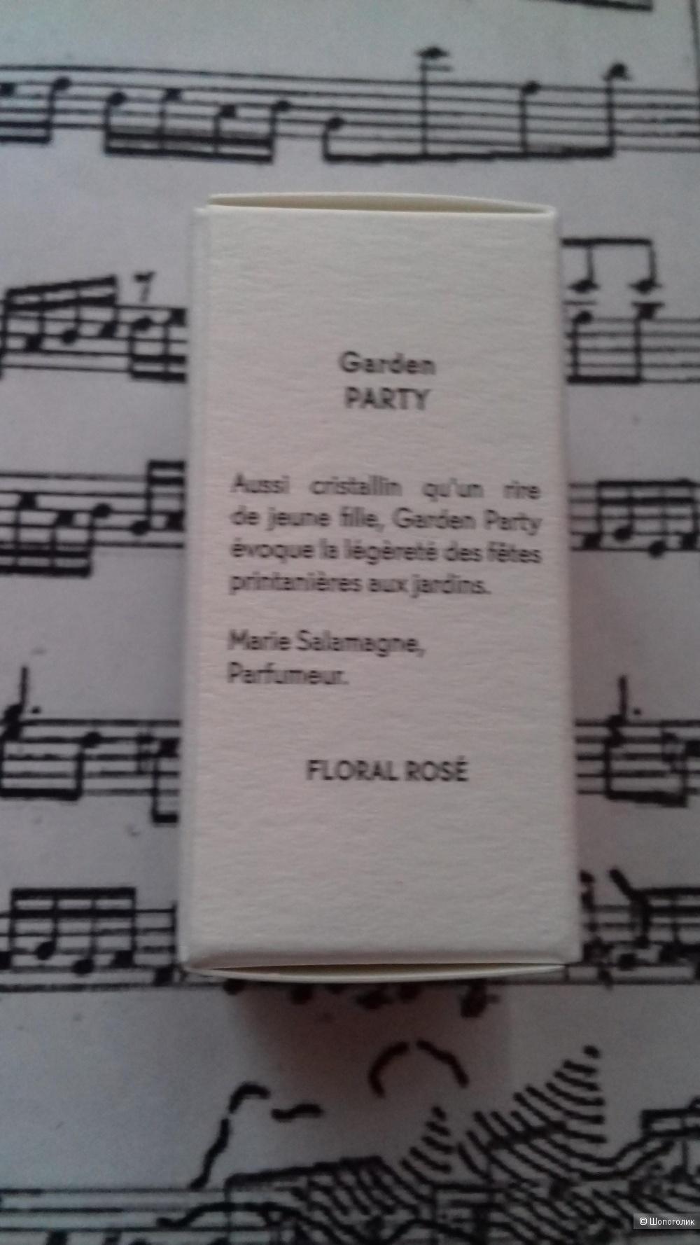 Парфюмерная вода garden party, Yves Rocher, 5 ml