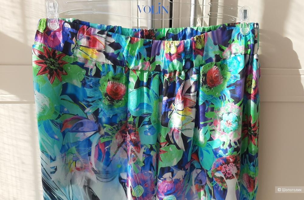 Шёлковые итальянские брюки WHO`S WHO на р.46 +/-