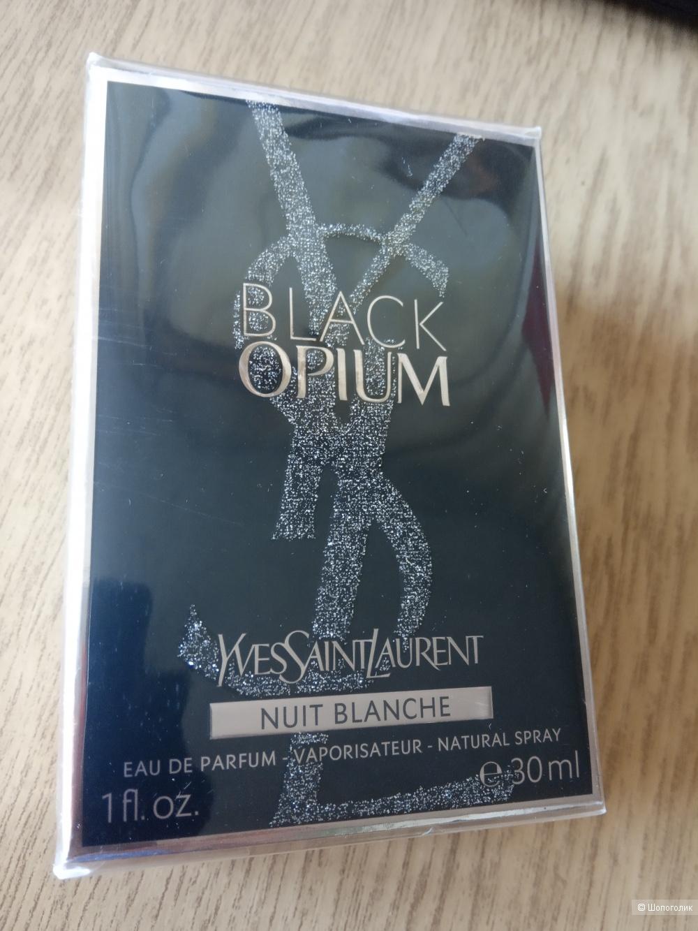 BLACK OPIUM NUIT BLANCHE от YSL, 30 мл