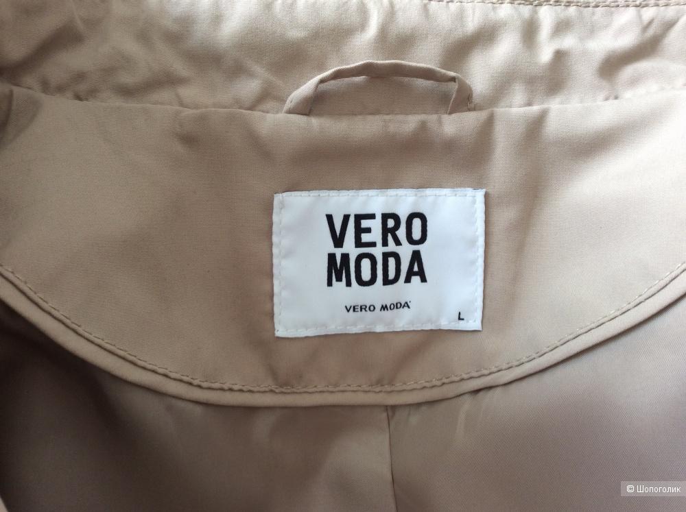 Укороченный тренч Vero Moda р. L (на 46-48)