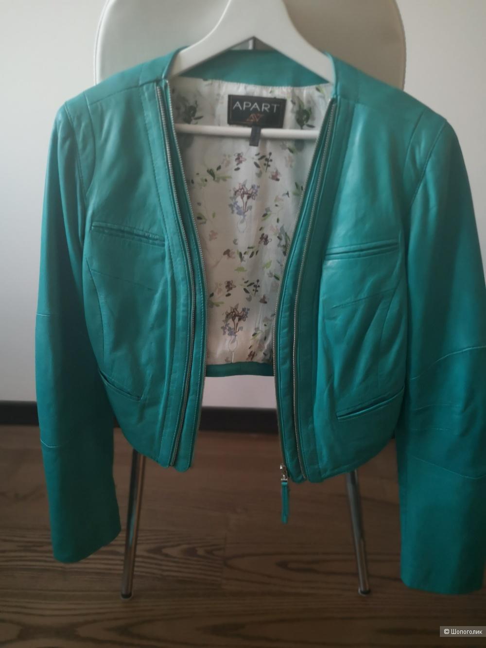 Кожаная куртка Apart, 46 размер