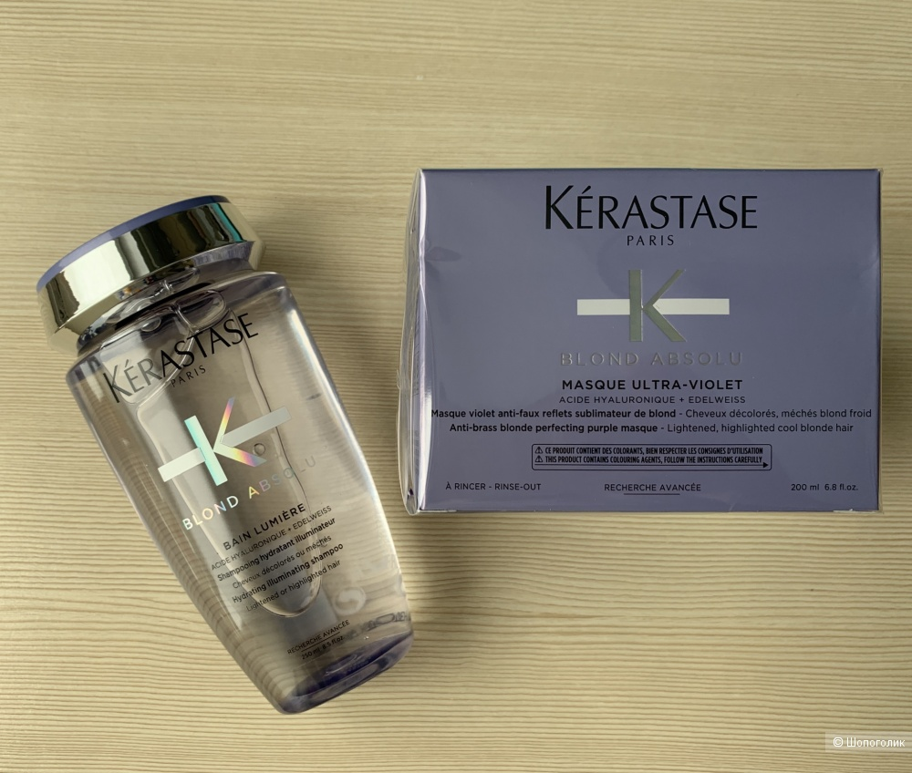 Набор Kerastase Blond Absolu, шампунь+маска, 200 мл