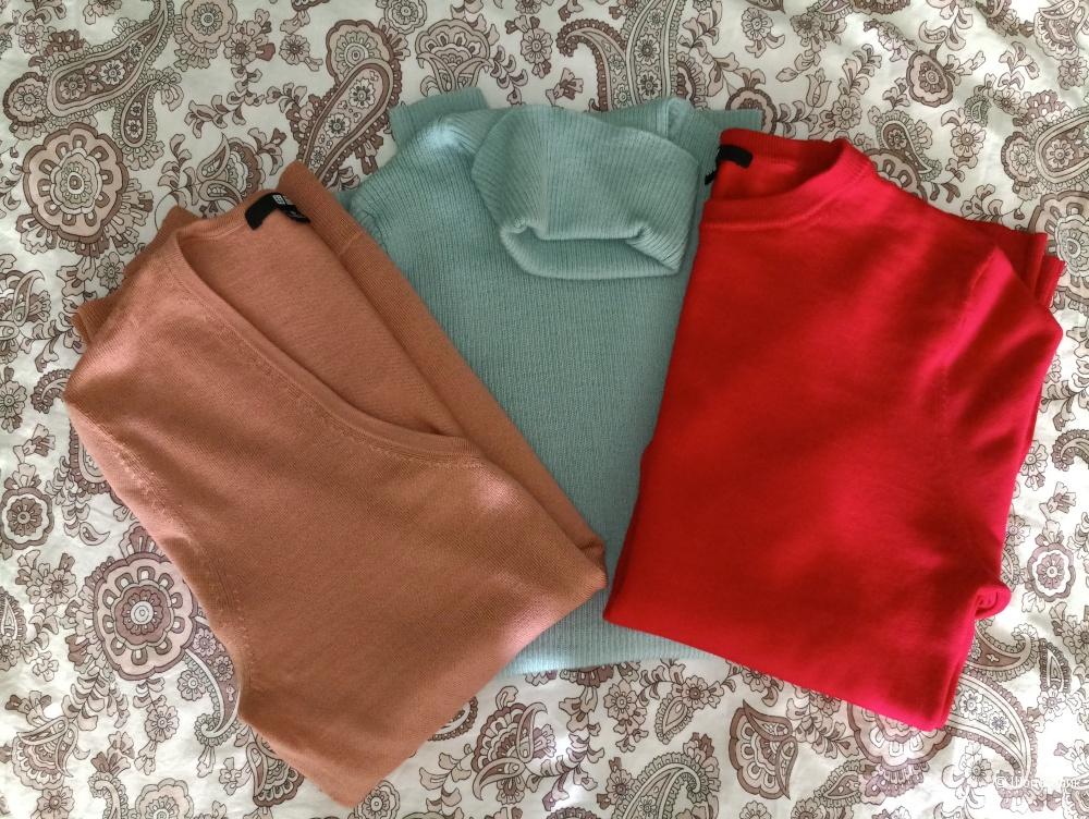 Сет из трех свитеров Uniqlo XS   шерсть мериноса