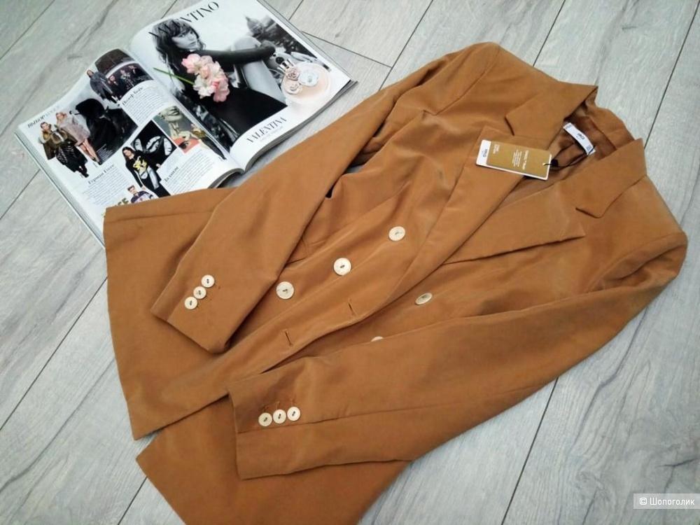 Удлиненный пиджак mango, размер S