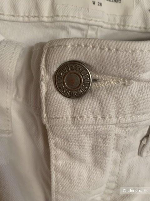 Джинсы Levi's  721 High Waist zip altered 28