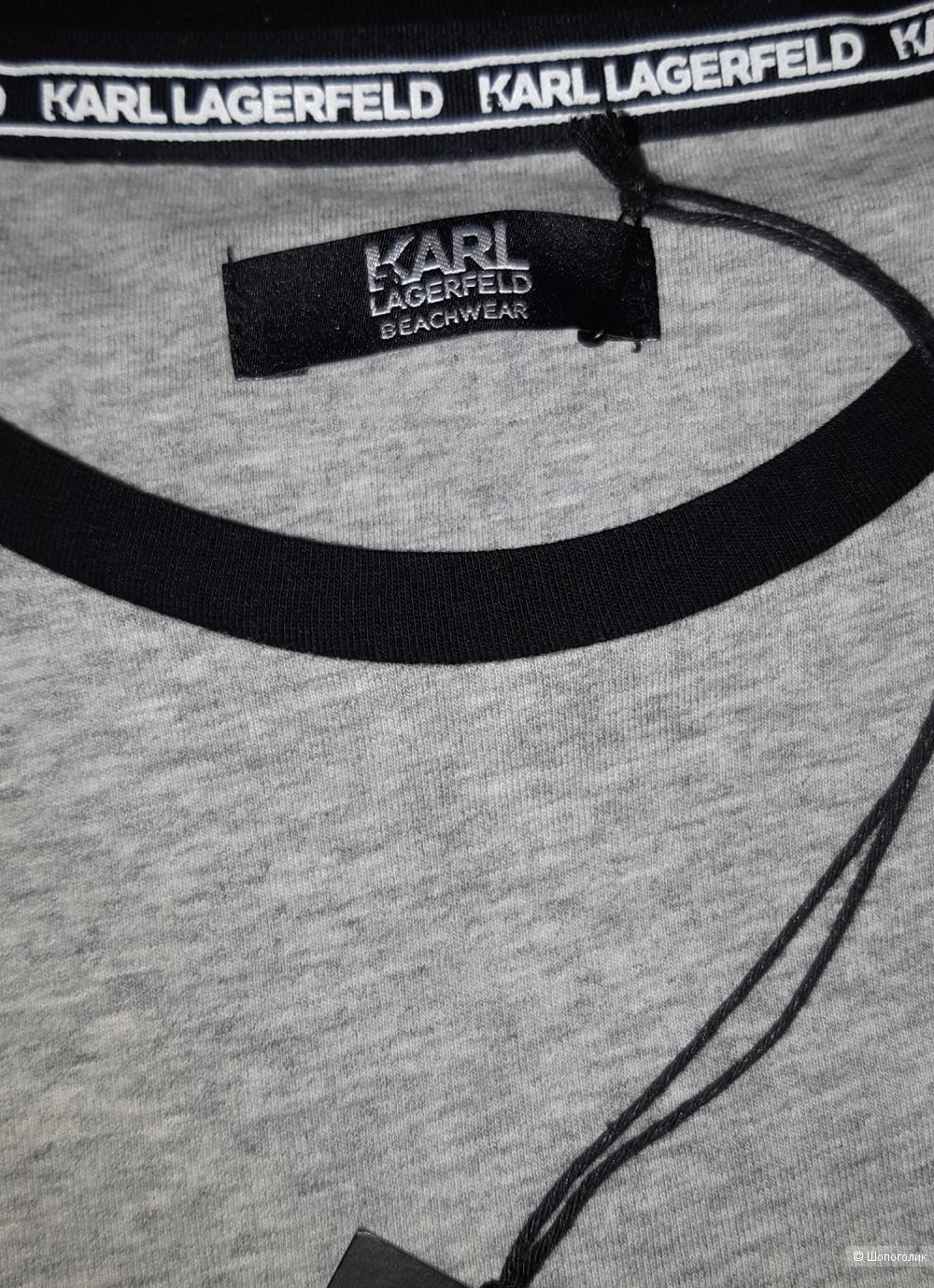 Футболка karl lagerfeld, размер m
