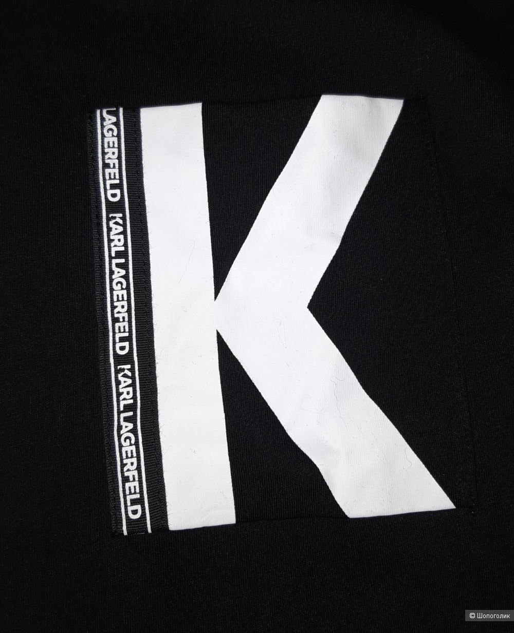 Футболка karl lagerfeld, размер l/xl