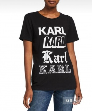 Футболка Karl Lagerfeld размер М - L