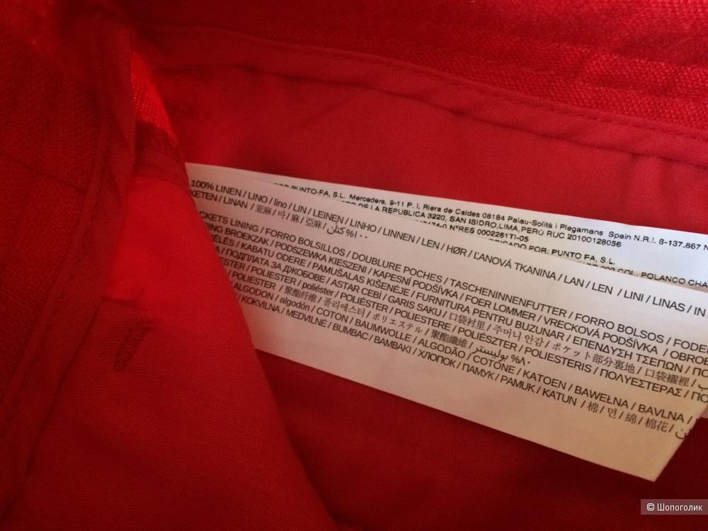 Льняные шорты Mango, 38 размер (44-46)
