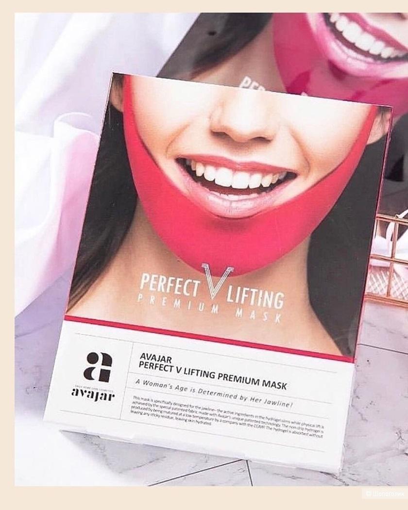 Avajar Pefect V Lifting Premium Mask Маска-бандаж для лифтинга овала лица