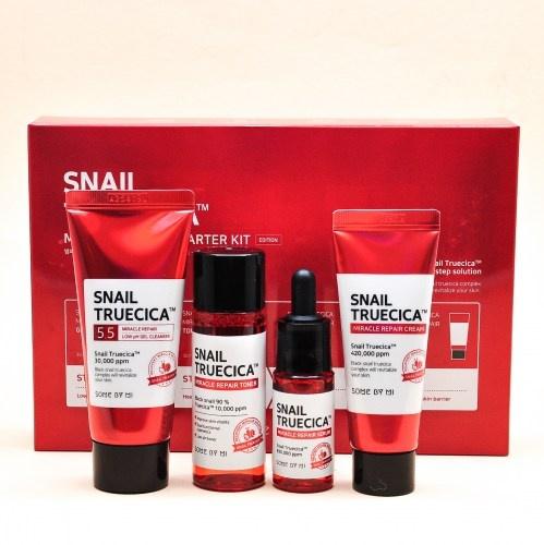 Набор миниатюр с муцином улитки Some By Mi Snail Truecica Miracle Repair Starter Kit