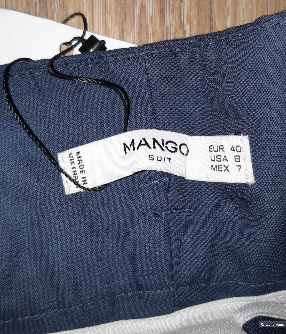 Брюки mango, размер 46