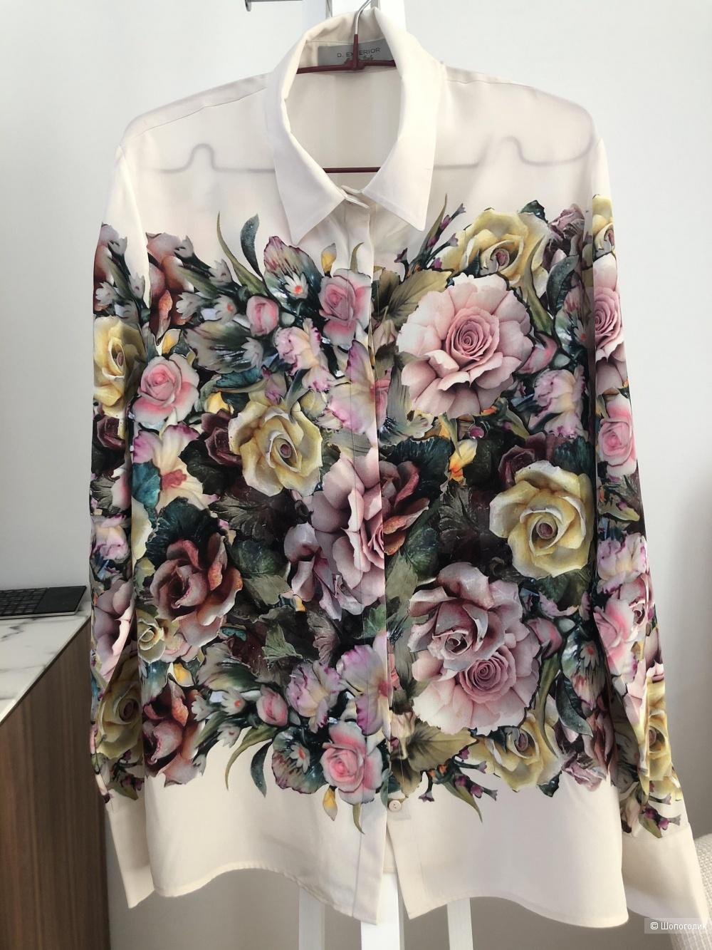 Шелковая блуза D.Exterior. Размер L.